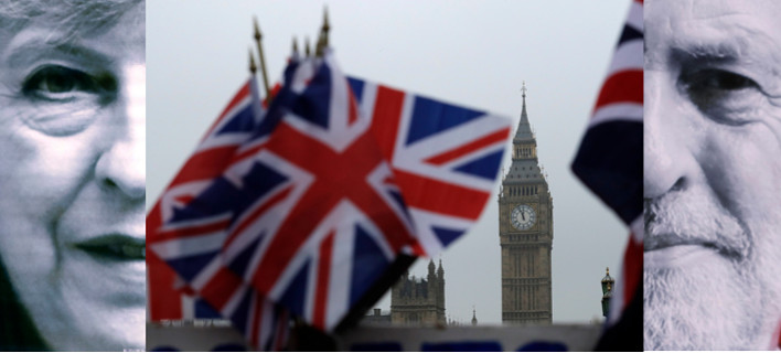 Εκλογές στη Βρετανία: «Χαστούκι» σε Μέι -Πρώτη, αλλά χωρίς αυτοδυναμία -Live