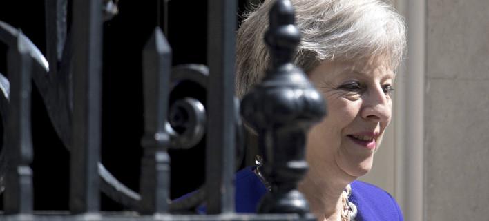 Η Τερέζα Μέι (Φωτογραφία: AP/ Dominic Lipinski)