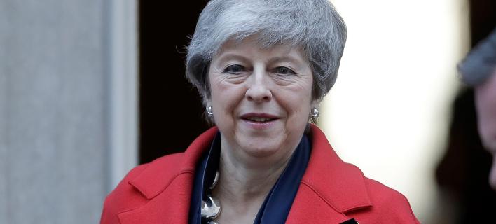 Η πρωθυπουργός της Μ. Βρετανίας, Τερέζα Μέι (Φωτο: ΑΡ)