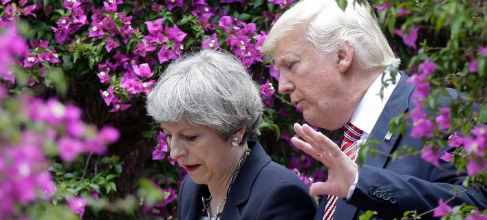 Τερέζα Μέι-Ντόναλντ Τραμπ/Φωτογραφία: AP