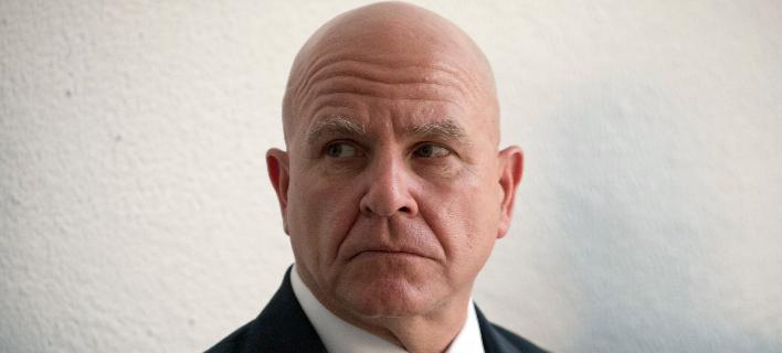 Ο Σύμβουλος Εθνικής Ασφαλείας του Λευκού Οίκου, ο στρατηγός Χέρμπερτ Ρέιμοντ ΜακΜάστερ // ΦΩΤΟ: ΑΡ