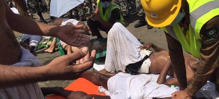 Τραγωδία στη μέκκα: ποδοπατήθηκαν άνθρωποι -τουλάχιστον 300 νεκροί και 450 τραυματίες [εικόνες>