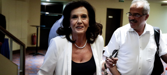 Η Θεοδώρα Μεγαλοοικονόμου (Φωτογραφία: Eurokinissi/ΚΟΝΤΑΡΙΝΗΣ ΓΙΩΡΓΟΣ)