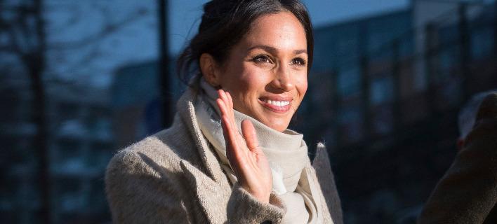 Η νέα πριγκίπισσα Μέγκαν Μαρκλ. Φωτογραφία: AP