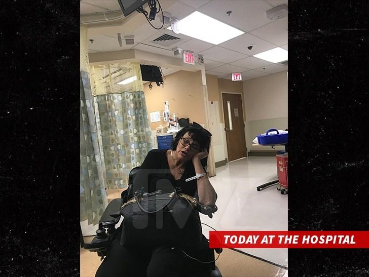 Η Σαμάνθα στο νοσοκομείο