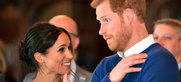 Φωτογραφία: AP- Μέγκαν Μαρκλ και Πρίγκιπας Χάρι