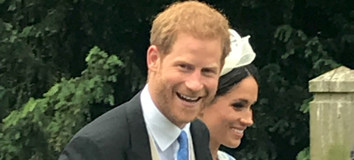 Η Μέγκαν Μαρκλ και ο πρίγκιπας Χάρι /Φωτογραφία: Splashnews