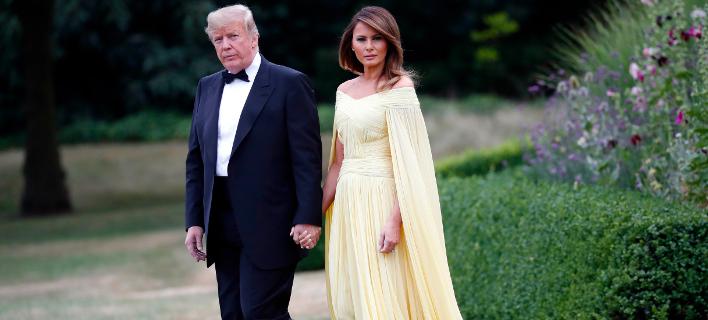 Ντόναλντ και Μελάνια Τραμπ (Φωτογραφία: AP Photo/Pablo Martinez Monsivais)