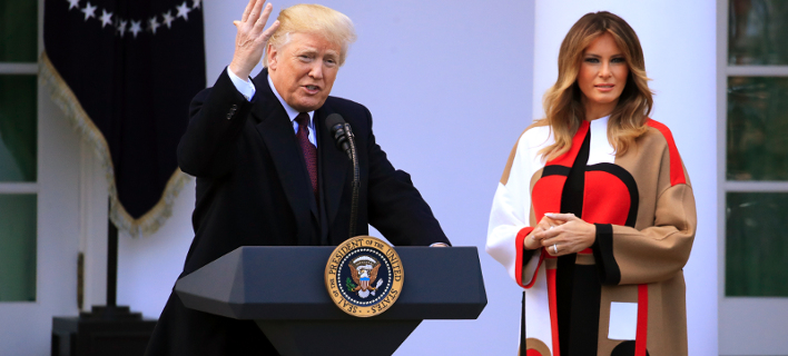 Μελάνια Τραμπ/ Φωτογραφία: AP