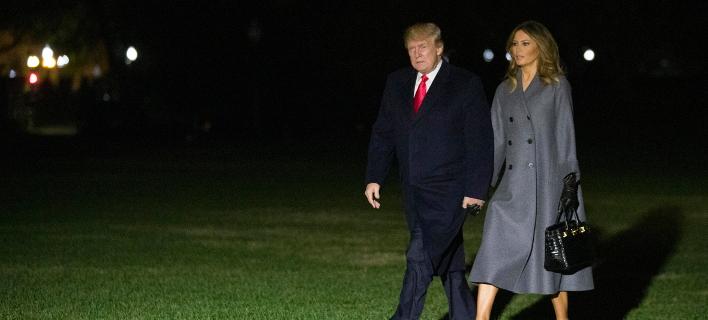 Μελάνια και Ντόναλντ Τραμπ (Φωτογραφία: AP Photo/Alex Brandon)