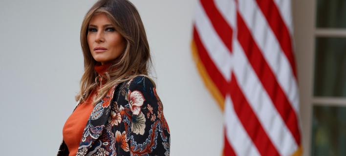 H Μελάνια Τραμπ (Φωτογραφία: AP Photo/Evan Vucci)
