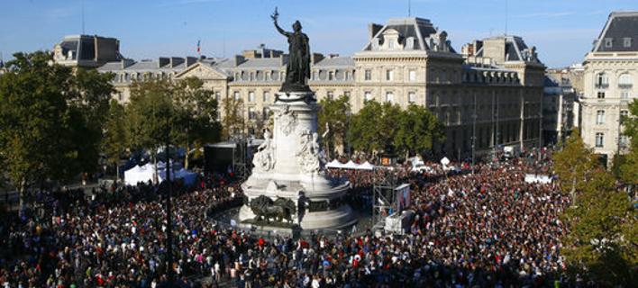 Γαλλία: Δεκάδες χιλιάδες διαδηλωτές κατά της εργασιακής μεταρρύθμισης Μακρόν [εικόνες]
