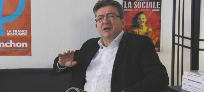 Μελανσόν, ο γάλλος πολιτικός που κάνει προεκλογική εκστρατεία μόνο στο YouTube και σαρώνει [βίντεο]