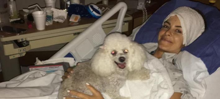 Το συγκινητικό μήνυμα της Μαρίας Μενούνος δύο μήνες μετά την εγχείρηση στο κεφάλι [εικόνα]