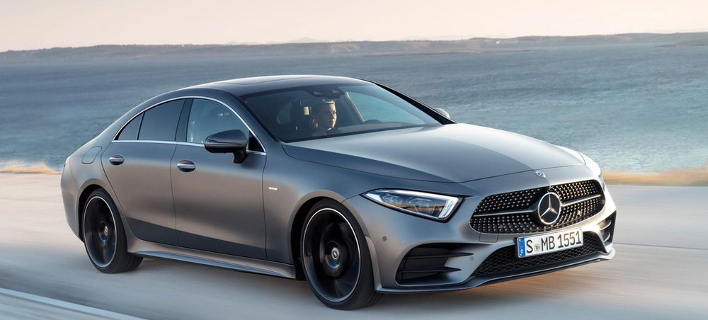 H νέα Mercedes-Benz CLS παρουσιάστηκε στο Λος Αντζελες [εικόνες]