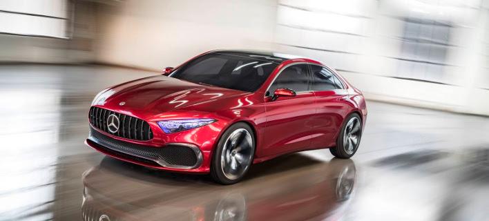Το Concept A Sedan είναι ο προπομπός των νέων compact Mercedes  [βίντεο]