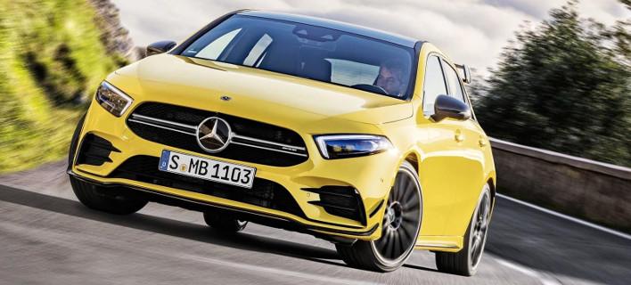 Η Mercedes-AMG A 35 4MATIC είναι με 306 ίππους η πιο ισχυρή Α-Class