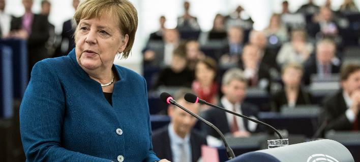 Ανγκελα Μέρκελ (Φωτογραφία: AP Photo/Jean-Francois Badias)