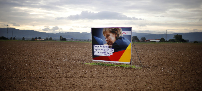 Φωτογραφία: Η Μέρκελ καλεί τους Γερμανούς να προσέλθουν την Κυριακή στις κάλπες/Associated Press