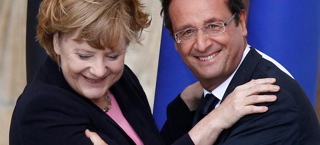 Μέρκελ-Ολάντ: Η Ευρώπη θα νικήσει, ζήτω η γαλλογερμανική φιλία
