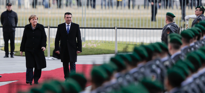 Μέρκελ με Ζάεφ: «Ελλάδα και