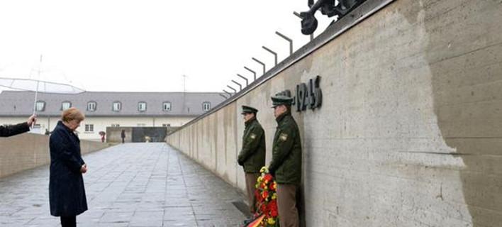 Μέρκελ: Δεν θα ξεχάσουμε ποτέ τις φρικαλεότητες των ναζί
