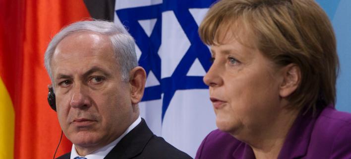 Νετανιάχου-Μέρκελ/Φωτογραφία: AP