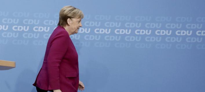 12 «δελφίνοι» της Μέρκελ για την προεδρία στο CDU /Φωτογραφία: AΡ