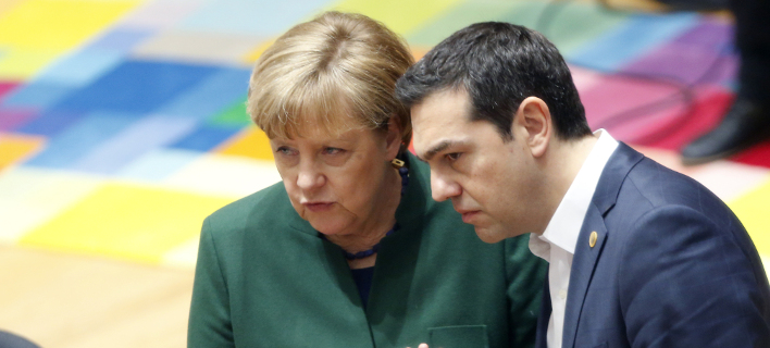 Μέρκελ και Τσίπρας / Φωτογραφία: AP