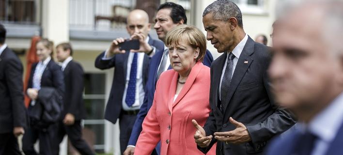 FT: Ο Ομπάμα παραδίδει τη σκυτάλη της παγκόσμιας ηγεσίας στη Μέρκελ