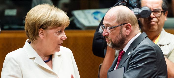 Την Τετάρτη θα συναντηθούν Μέρκελ και Σουλτς για τον σχηματισμό κυβέρνησης