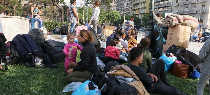 Πρόσφυγες και μετανάστες στην Ελλάδα/Φωτογραφία: Eurokinissi