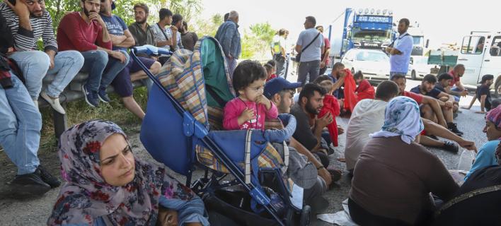 Μετανάστες/Φωτογραφία: Eurokinissi