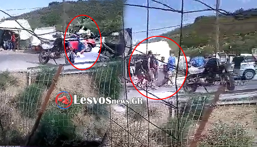 Αγρια επεισόδια στη Μόρια μεταξύ μεταναστών -Τουλάχιστον 6 τραυματίες [βίντεο] | iefimerida.gr 0