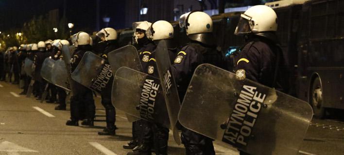 Ισχυρή θα είναι η αστυνομική παρουσία στο κέντρο της Αθήνας/ Φωτογραφία: EUROKINISSI- ΓΙΩΡΓΟΣ ΚΟΝΤΑΡΙΝΗΣ