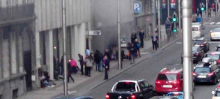 Εκρηξη και στο σταθμό του μετρό των Βρυξελλών -Κοντά στο κτίριο της Κομισιόν [εικόνα & βίντεο]