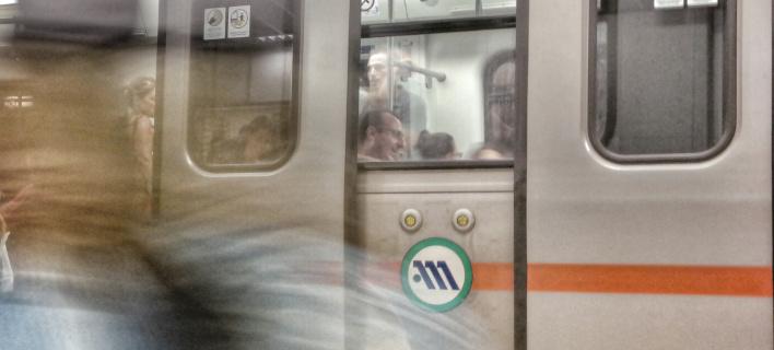 Συρμός του Μετρό/Φωτογραφία αρχείου: Eurokinissi