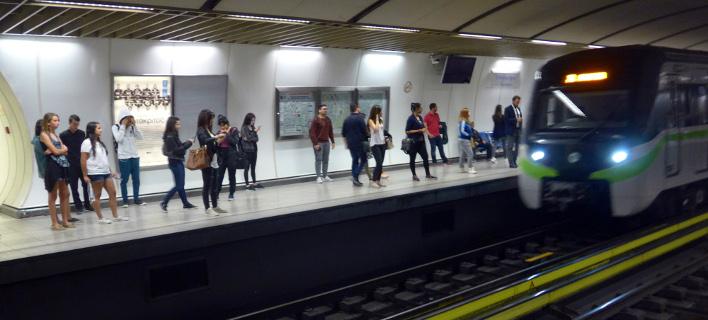 Μετρό/Φωτογραφία: Eurokinissi