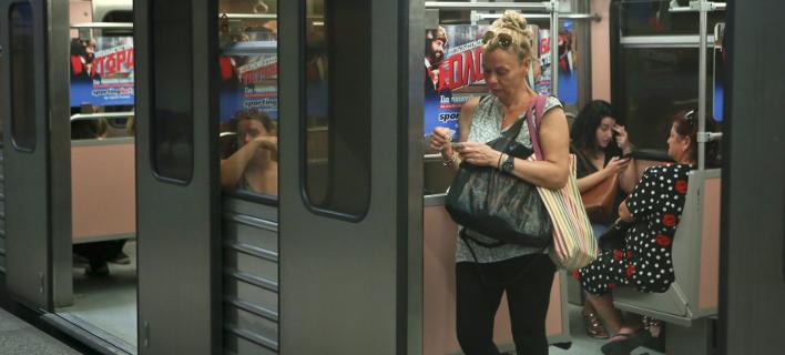 Βαγόνι στο μετρό/ Φωτογραφία: INTIME NEWS- ΚΑΠΑΝΤΑΗΣ ΔΗΜΗΤΡΗΣ
