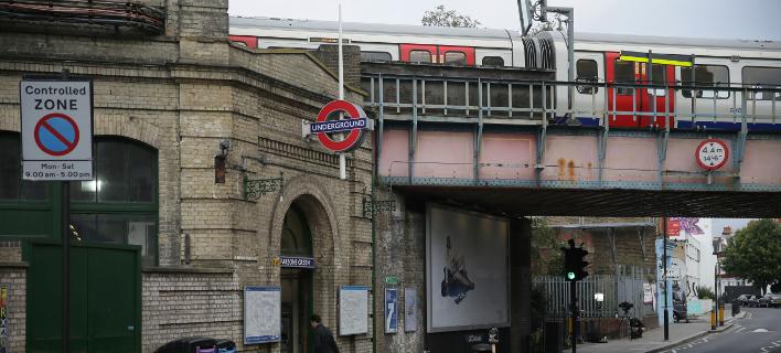 Η βόμβα εξερράγη εν μέρει, δήλωσε σήμερα η βρετανική αστυνομία (Φωτογραφία:ASSOCIATED PRESS)