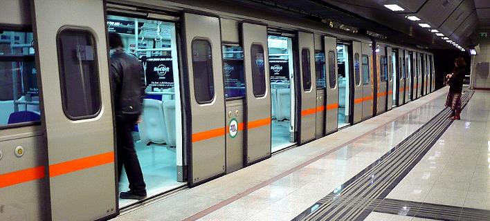 Κλειστοί σταθμοί του μετρό/Φωτογραφία:neolaia