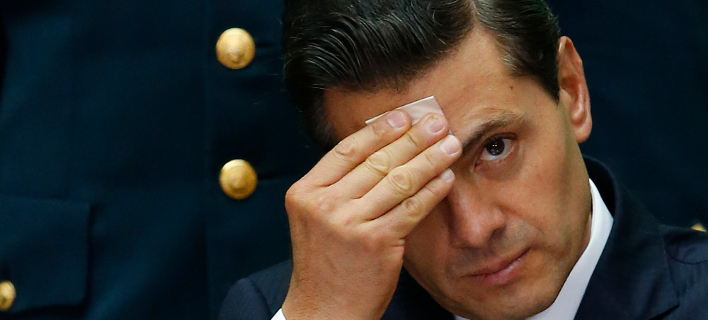 O Πρόεδρος του Μεξικού, Πένια Νιέτο // Φωτογραφία: ΑΡ