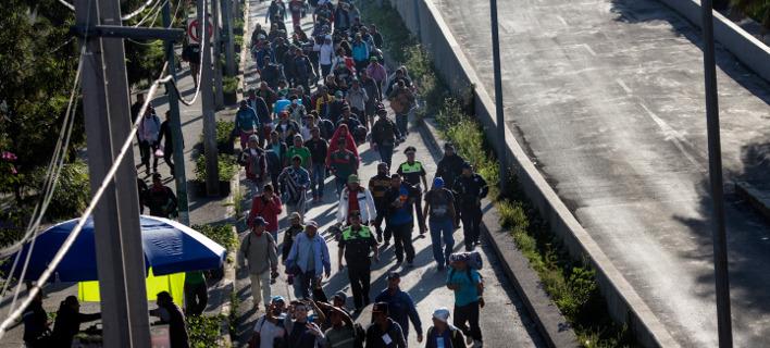 Μετανάστες από το Μεξικό. Φωτογραφία: AP