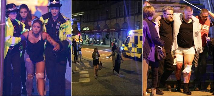 Τρομοκρατικό χτύπημα σε συναυλία στο Μάντσεστερ -19 νεκροί, 50 τραυματίες