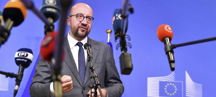 Ο πρωθυπουργός του Βελγίου Σαρλ Μισέλ (Φωτογραφία: AP/ Geert Vanden Wijngaert)