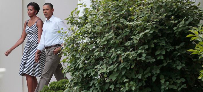 Μισέλ και Μπαράκ Ομπάμα /Φωτογραφία: ΑΡ