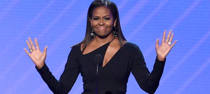Η πρώην Πρώτη Κυρία, Μισέλ Ομπάμα. Φωτογραφία: AP