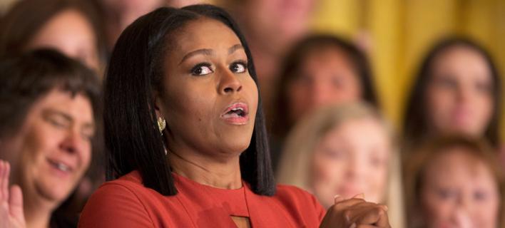 Μισέλ Ομπάμα/ Φωτογραφία: AP