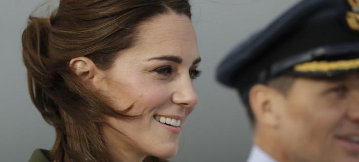 Η Κέιτ Μίντλετον στην Κύπρο /Φωτογραφία: AP