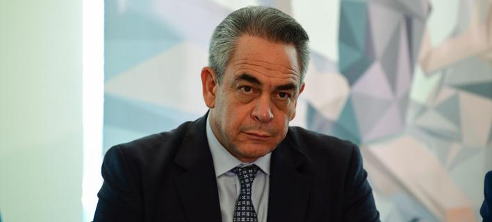 Ο πρόεδρος του ΕΒΕΑ, Κωνσταντίνος Μίχαλος-Φωτογραφία: Intimenews/Μιχάλης Βαρακλάς
